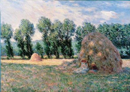 Monet, Claude: Haystacks. Fine Art Print/Poster. Sizes: A4/A3/A2/A1 (004047)